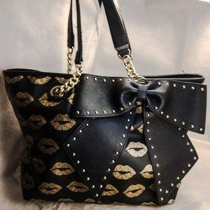 Authentic large Betsey Johnson purse handbag